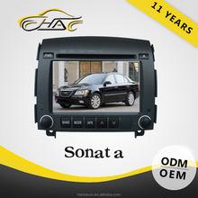 China Factory Hot Sale Hyundai Sonata nf Car DVD Player Built In GPS Navigation With Rear-view Camera