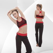 2012 Women Fashionable Active and Breathable Yoga/Pilates Clothing