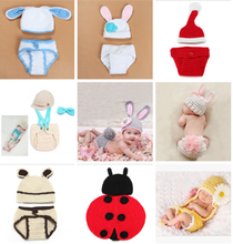 Manufacturer crochet knit bikini animal patterns Handmade knitted beanie hat infant design your own winter hat