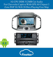 "8"" 3G/Wifi Android4.0 Car DVD Player for Chevrolet Captiva 2011with Gps Navgigation,Bluetooth,Ipod,Free map"