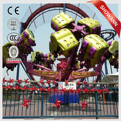24 Seats Rotating 360 Degrees Amusement Park rides Energy Storm For sale