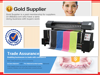 Automatic sublimation printer with DX7 1400dpi head cloth banner printing machine