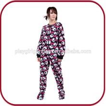 Pghw- 0527 venta al por mayor de algodón liso pijamas traje