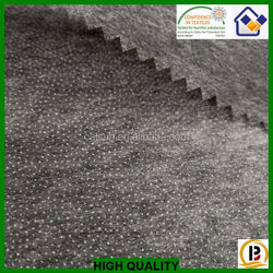 High quality double dot 25gsm nonwoven Fusible Interlining,interfacing fabric