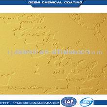 Waterproof interior metallic gold powder coating paint