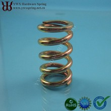 Custom Steel Music Wire zinc-plated truck spring
