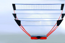 3 in 1 Portable badminton&tennis&volleyball stand goal post.