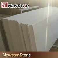 Newstar man made engineered stone arctic white quartz countertops