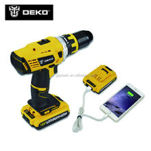 18V DC New Design Mobile Power Supply Lithium Battery Cordless Drill