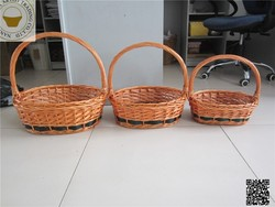 2015 New coming product promotion gift wicker basket