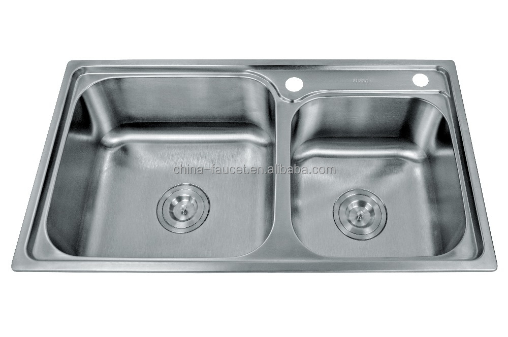 2015 hot sale high quality stainless steel kitchen sink for High quality kitchen sinks
