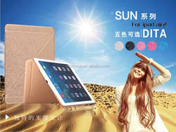 DITA Sun series leather case for iPad 2 Fashion shockproof waterproof drop resistance anti-dust protective case