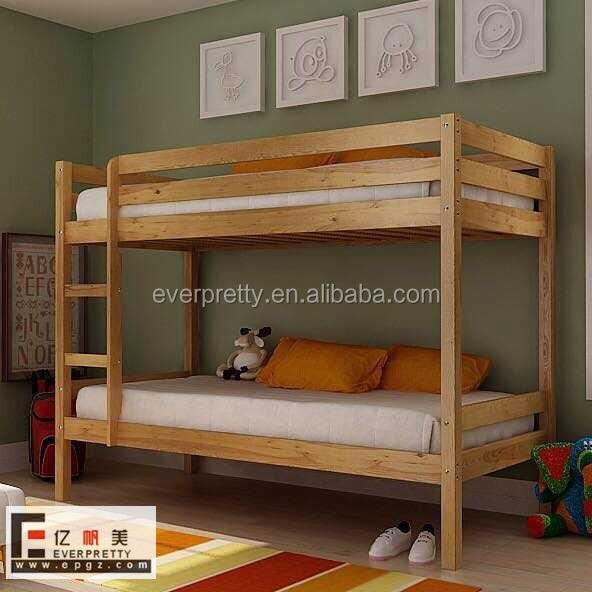 adultos cama litera cama de madera maciza muebles de la sala cama litera de madera