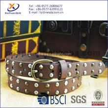 Diamond and Stud Fashion Fire Cracks Pattern Belts