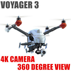 Hot new products for 2015 HD video camera 360 degree gimbal follow me mode collapsible flying VOYAGER 3 FPV drone kit