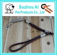Leather Short Dog Show Lead Handmade Training Dog Leash