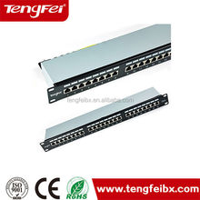 Best selling Cat6 FTP patch panel ,24 port STP /FTP of patch panel