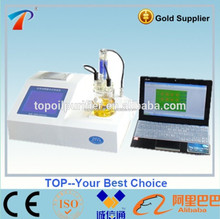 Model TP-2100 Fully Automatic Karl Fischer Water Content Tester with the Most Accurate Method