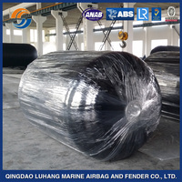 High prussure floating foam filled EVA inflatable bougs fender for boat