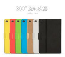 Newest Design Original USAMS 360 Degrees-Rotation Case for ipad mini 4 Fashion Cover PC+PU Folding Folio Case MT-4403
