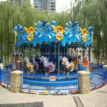 Amusement park the ocean carousel house playground equipment
