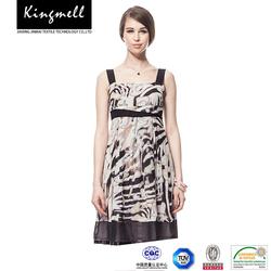 Custom-made Digital Printed pakistan bridal pleated fabric for dress