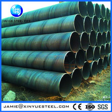 ISO9001 gas and oil line spiral welded steel pipe for oil and gas