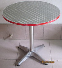 brand aluminum round dining folding table YT1LP