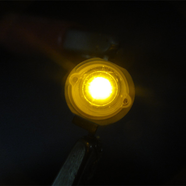 Epileds Chip High Power 1w 3w 570nm 575nm 580nm 585nm 590nm 595nm Yellow LED