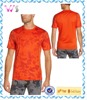 Fashion custom 100% Polyester printing running men t shirt wholesale