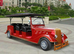 8 seater electric convertible car vintage golf carts(LT-S8.FA )