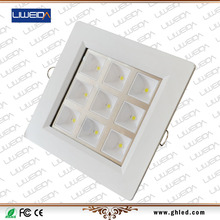 CE ROHS approved AC100-240V cut out 130*130mm 12W 120degree panel light
