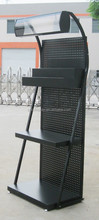 select racking/ metal racking for lubricant oil/supermarket displays stands for motorcycle oil