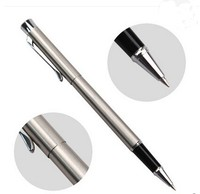 Low MOQS slim twist metal ball point pen wholesale in china