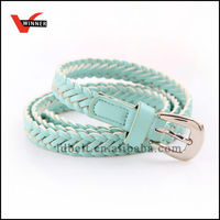 Fashion fancy handmade women braided belts