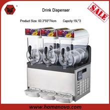 Manufacturer High Quality 3 Bowl Tank 15L *3 Capacity 60.3*55*74cm Mixer Slush Ice Machine For Sale