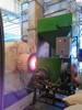 Environmental protection and safe wood gasifier generator with low cost