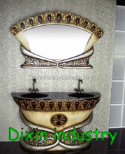 Antique waterproof bathroom vanity storage