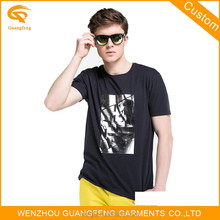 China High Quality Popular Black Fashion Basic T Shirt