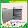 Segurando 1320 ovos automática cheia incubadora de frango codorna ovos de pato máquina de incubação venda quente