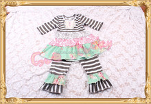 Childrens Boutique Outfits Little Girls Ruffle Outfits Kids Clothing Kids Clothes Autumn Wholesale Clothes