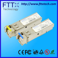 hot selling huawei compatible 10g xfp single LC bi-di 60km 10g fiber optic transmitter
