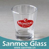 Machine Press-Blow Round Bottom Printing Shot / Drinking Glass Cup