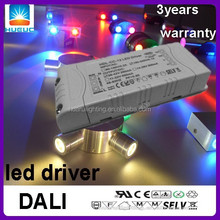 500&700&900&1100mA constant current 30w DALI dimmable led driver driver