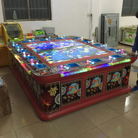 New design contemporary fish man game ticket eater machine with great price