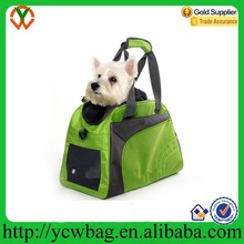 Wholesale recycle travel pet tote bag dog carrier bag