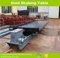 La gravedad pequeña máquina separadora de oro sacudiendo la tabla para cotan, la minería de oro