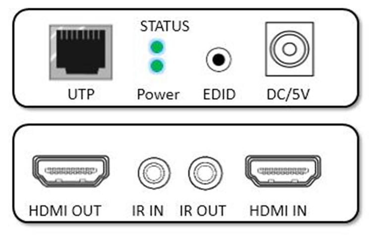 IR transmitter receiver