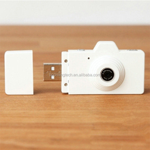 White color camera shaped usb flash drive