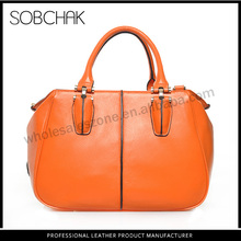 China manufacture handbags genuine fashionable leather camera bags